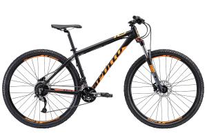 Велосипед 29″ Apollo COMP 10 matte Black/matte fluoro orange 2019
