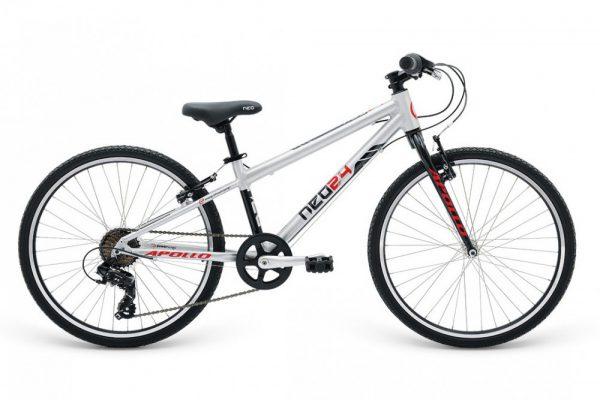 Велосипед 24″ Apollo Neo 7s boys Red 2021
