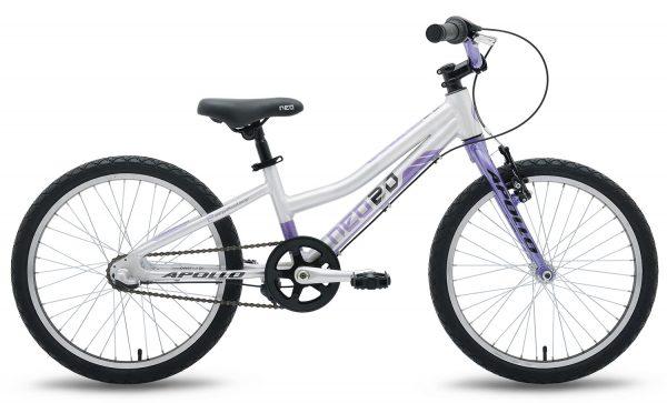 Велосипед 20″ Apollo Neo 3i girls Violet/Black