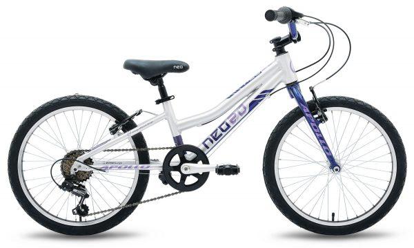 Велосипед 20″ Apollo Neo 6s girls Blue/Lilac