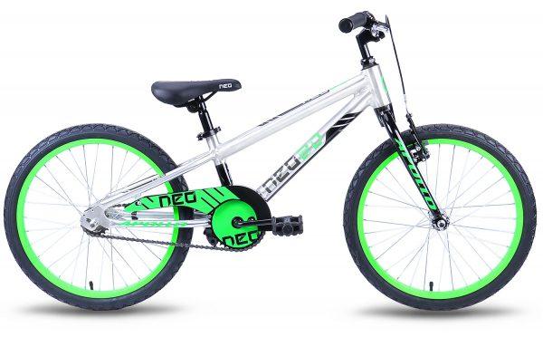 Велосипед 20″ Apollo Neo boys Black/Lime