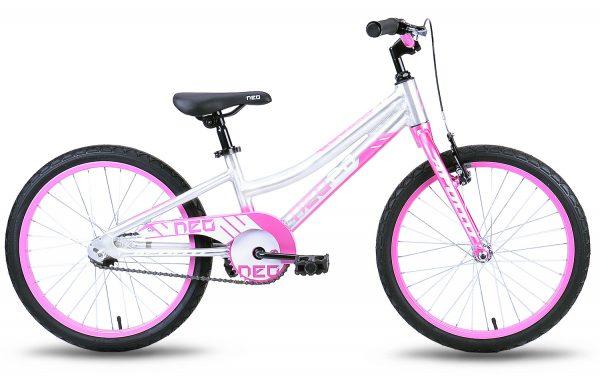 Велосипед 20″ Apollo Neo girls Pink/White