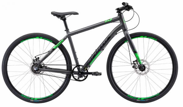 Велосипед 28″ Apollo TRACE 45 Matte Black/Matte Neon Green 2019