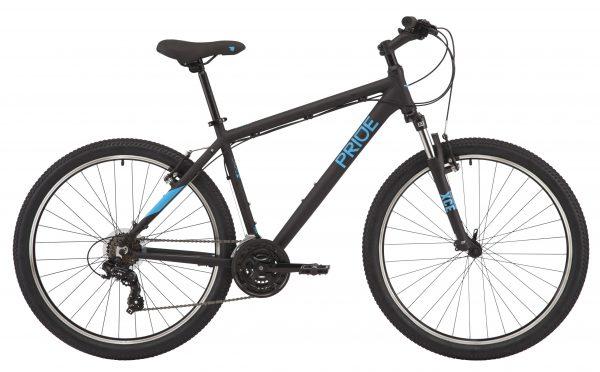 Велосипед 27,5″ Pride Marvel 7.1 Black-blue 2020