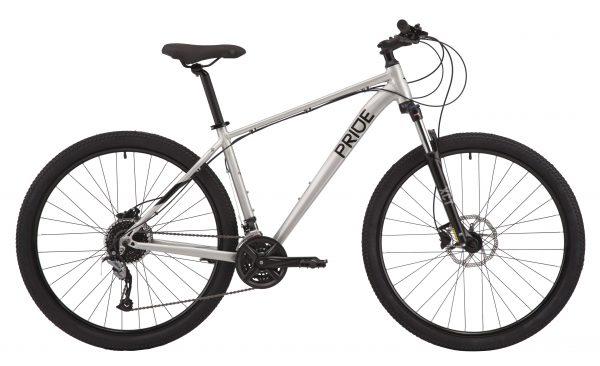 Велосипед 29″ Pride Marvel 9.3 Silver/black 2020