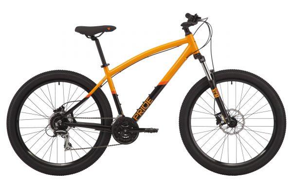 Велосипед 27,5″ Pride Raggey Orange/black 2020