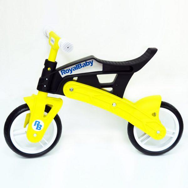 Беговел 12″ RoyalBaby KB7500 Yellow-black