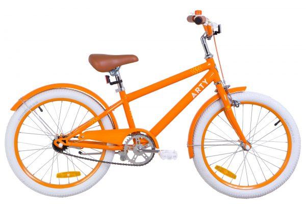 Велосипед 20″ Dorozhnik ARTY 14G St с крылом St Orange
