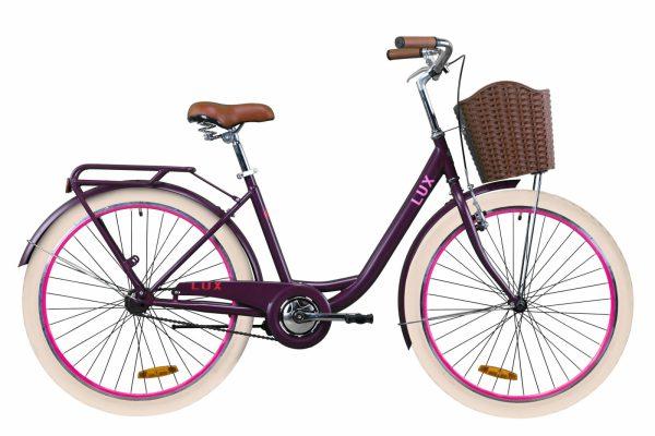 Велосипед 26″ Dorozhnik LUX Plum
