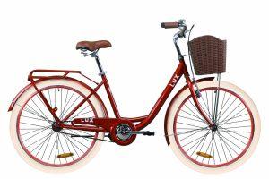 Велосипед 26″ Dorozhnik LUX Red