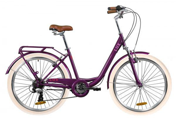 Велосипед 26″ Dorozhnik LUX AM Plum