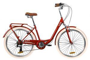 Велосипед 26″ Dorozhnik LUX AM Red