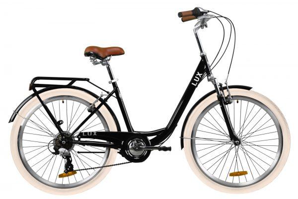 Велосипед 26″ Dorozhnik LUX AM Black