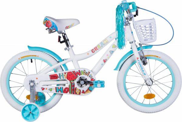 Велосипед 16″ Formula Cream White-aquamarine