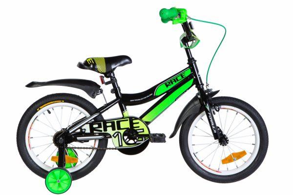 Велосипед 16″ Formula Race Green-black-white