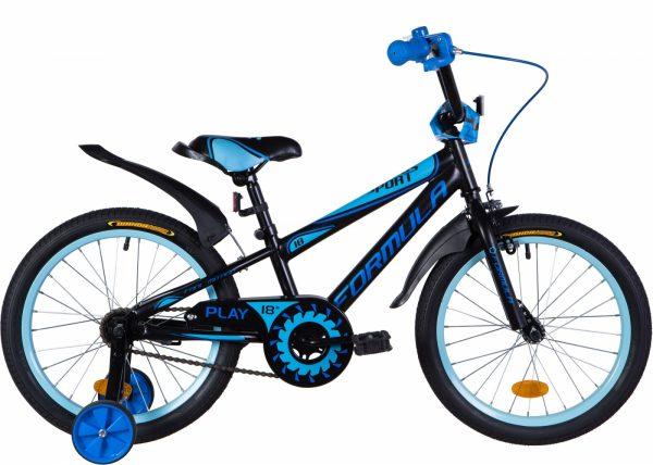 Велосипед 18″ Formula Sport Black-blue