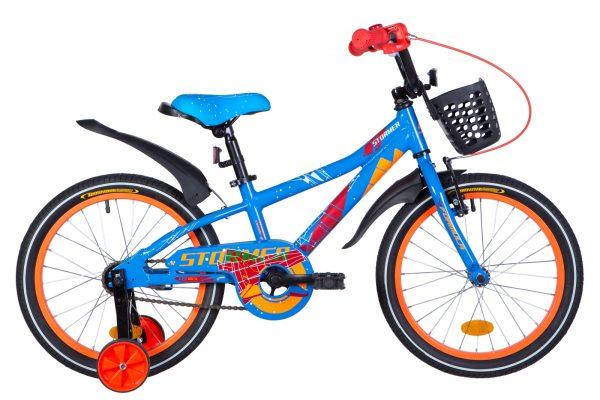 Велосипед 18″ Formula Stormer Blue-orange