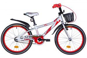 Велосипед 20″ Formula Stormer Silver-red