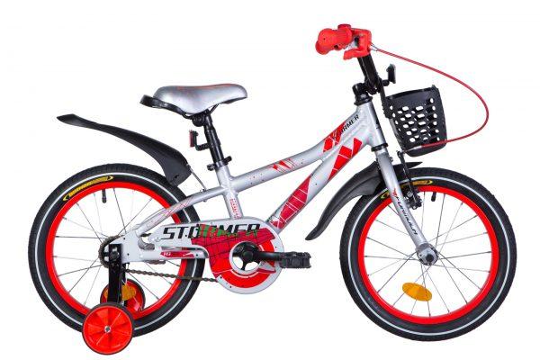 Велосипед 16″ Formula Stormer Silver-red