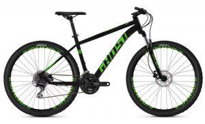 Велосипед 27,5″ Ghost Kato 2.7 AL U Black-green