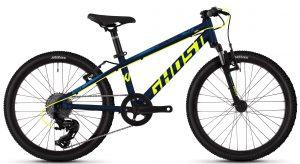 Велосипед 20″ Ghost Kato 2.0 Black-yellow-blue