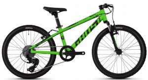 Велосипед 20″ Ghost Kato 2.0 Green-black