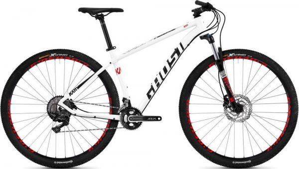 Велосипед 27,5″ Ghost Kato 3.7 White-red-black