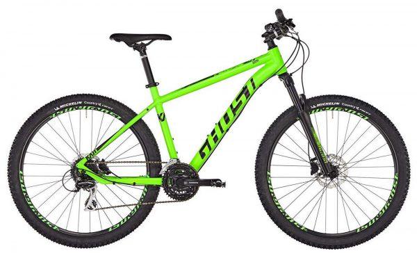 Велосипед 27,5″ Ghost Kato 3.7 Green black