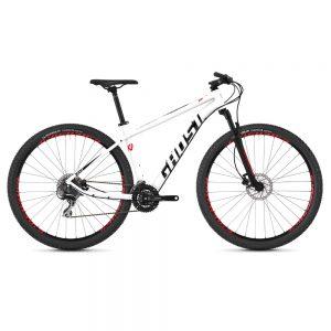 Велосипед 29″ Ghost Kato 3.9 White-red-black