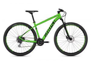 Велосипед 29″ Ghost Kato 3.9 AL U Green black