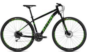 Велосипед 29″ Ghost Kato 4.9 AL U Black-green