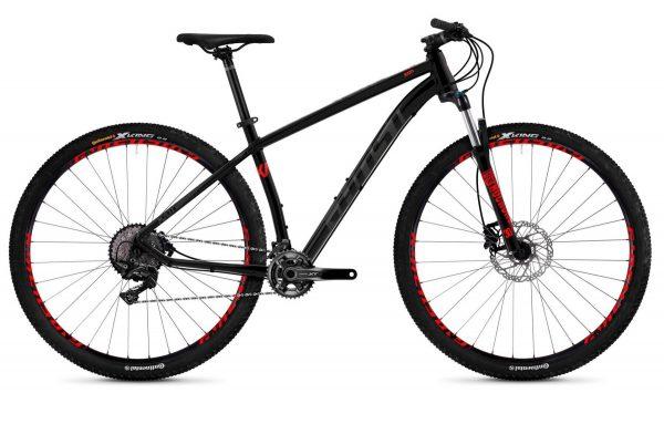 Велосипед 29″ Ghost Kato 9.9 Black-grey-red