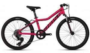 Велосипед 20″ Ghost Lanao 2.0 Red-black
