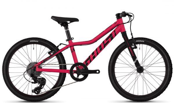 Велосипед 20″ Ghost Lanao R1.0 Raspberry-black