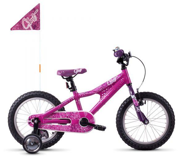 Велосипед 16″ Ghost Powerkid Pink