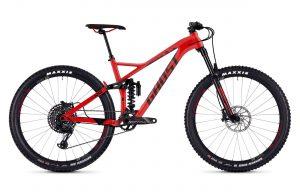 Велосипед 27,5″ Ghost Slamr 6.7 Red-black