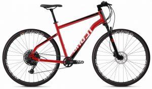 Велосипед 28″ Ghost Square Cross 4.8 Red-black-white