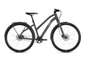 Велосипед 28″ Ghost Square Urban 3.8 Grey-black, Woman