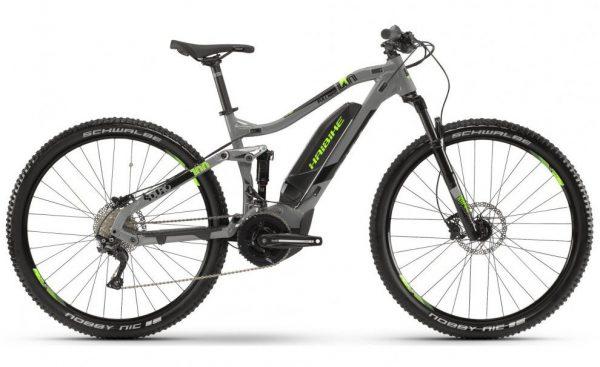Велосипед 29″ Haibike SDURO FullNine 4.0 Deore19 HB YCS Grey-green