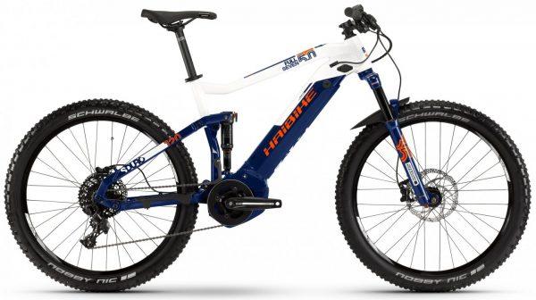 Велосипед 27,5″ Haibike SDURO FullSeven 5.0 Blue-white