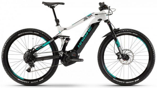 Велосипед 27,5″ Haibike SDURO FullSeven 7.0 Black-grey-turquoise