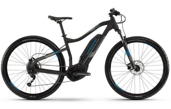 Велосипед 29″ Haibike SDURO HardNine 1.0 Altus19 HB YCS Black-gray-blue-matte