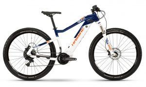 Велосипед 29″ Haibike SDURO HardNine 5.0 i500Wh NX 19 HB YCS White-blue-orange