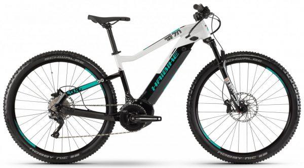 Велосипед 29″ Haibike SDURO HardNine 7.0 i500Wh Deore 19 HB YCS Black-turquoise-grey