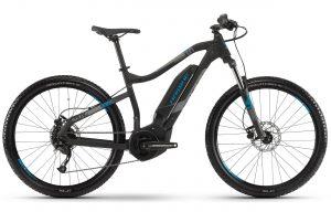 Велосипед 27,5″ Haibike SDURO HardSeven 1.0 Black-grey-blue-matte