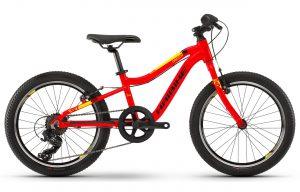 Велосипед 20″ Haibike SEET Greedy Red-yellow