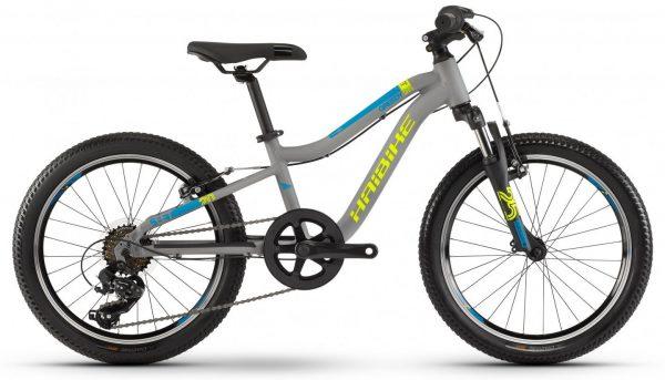 Велосипед 20″ Haibike SEET Greedy SF Grey-yellow