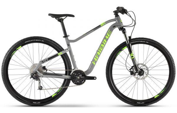 Велосипед 29″ Haibike SEET HardNine 4.0 Grey-green