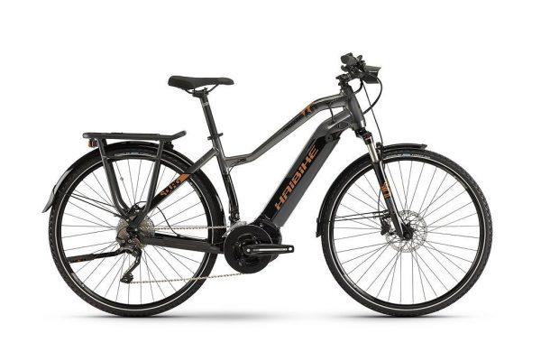 Велосипед 28″ Haibike SDURO Trekking 6.0 Lady Black-titanium-bronze