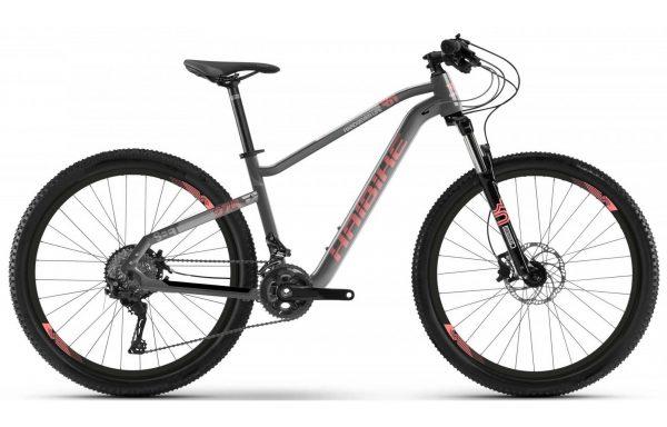 Велосипед 27,5″ Haibike Seet HardSeven Life 3.0 Acera19 HB Grey-red
